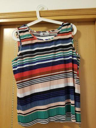 Colorful loose fit top