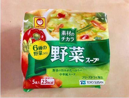 野菜蛋花湯