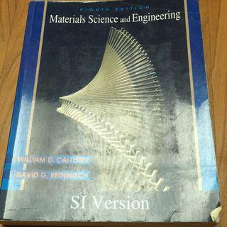 🚚 Materials Science and Engineering 8/e