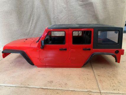 🚚 SCX10 Hard Plastic RC Crawler Body Shell