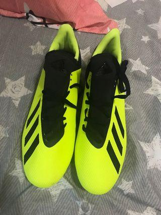 Adidas X 18.3 FG - Solar Yellow/Core Black/White