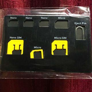 SIM Card Multi-tool Adaptor Nano Micro Standard Storage Pin