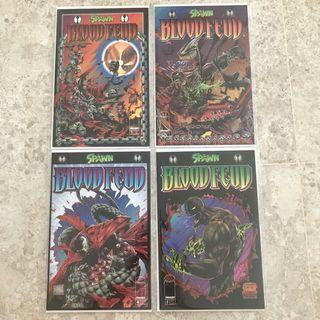 $30 for all Blood Feud Spawn comics #1,2,3,4