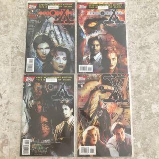 $20 for all X-files 1990s comics (#1,2,3 and annual 1)