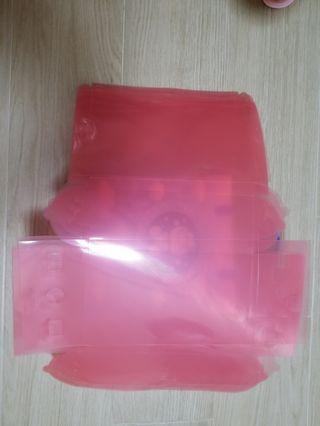 粉紅透明禮物盒