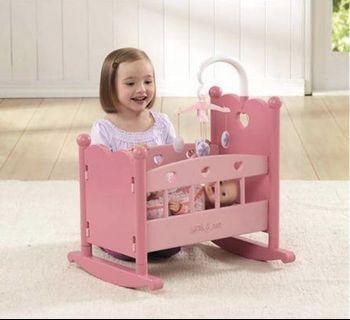 Preloved You & Me Baby Doll Crib