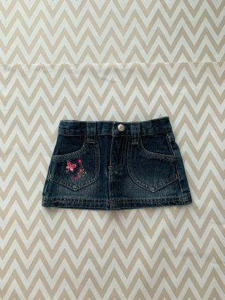 MIKI Baby Girl Jean Skirt