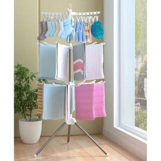 Cloth hanger stand drying laundry rack