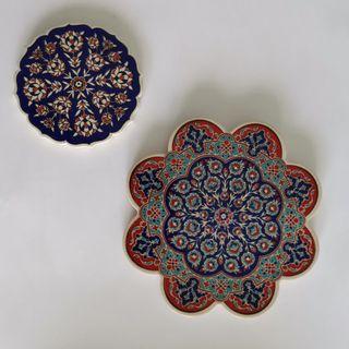 Turkish Ceramic Pot Holder & Coaster
