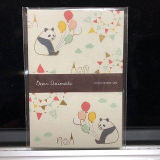 🚚 日本🇯🇵熊貓小信箋組