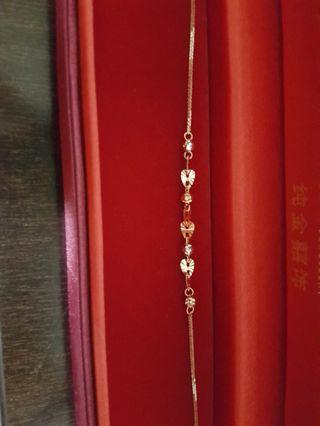 SK 18k rose gold bracelet