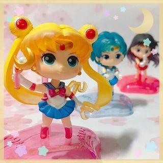 Sailormoon Twinkle Statue扭蛋Vol.1 全新,正版,齊蛋紙 全套3款,不設散買 $130 set