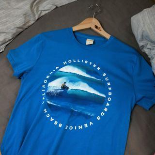 Hollister水藍上衣