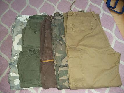 Cargo pants combo