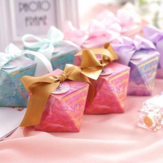 Ombre Galaxy Wedding Favour Box (50pcs)