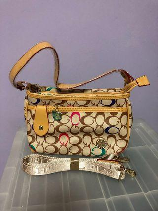 Dual slingbag and handbag