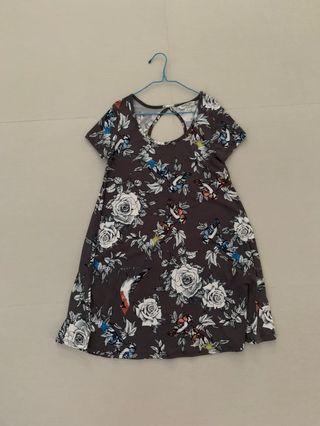 Asos floral swing dress