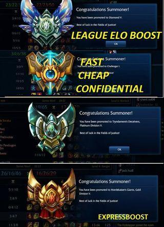 🌟Elo Boost League of Legends
