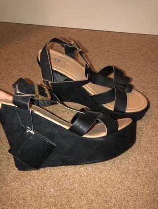 Rubi shoes wedge heels