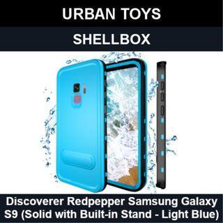 Shellbox Waterproof Case Samsung Galaxy S9 / Light Blue