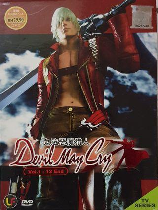 DVD Animasi Jepun : Devil May Cry Full Episode