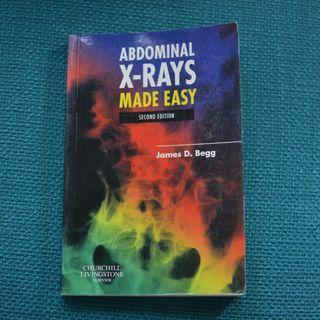 Medical textboook - Abdominal X-rays Made Easy 2nd ed