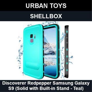 Shellbox Waterproof Case Samsung Galaxy S9 / Teal