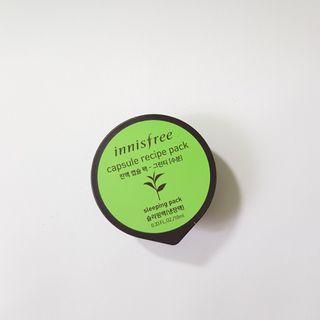 Innisfree Capsule Recipe Pack Green Tea
