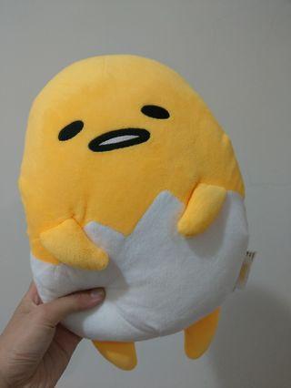 全新 蛋黃哥 暖手 抱枕 可愛 造型  娃娃 巨無霸