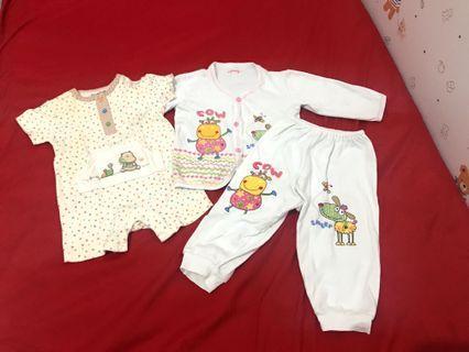 Baju bayi 6-12 months