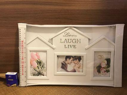 Photo Frame 相架 Love Laugh Live
