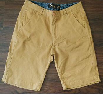 Tan Chino Shorts