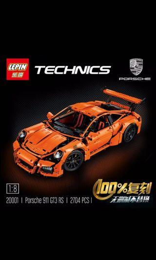 🚚 In Stock* Lepin 20001 : Porsche 911 GT3 RS