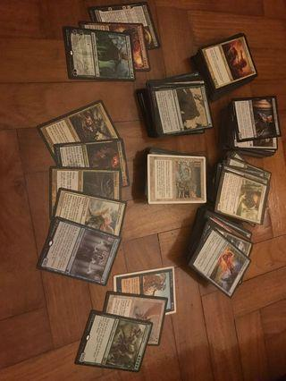 Lots of 100 MTG Cards