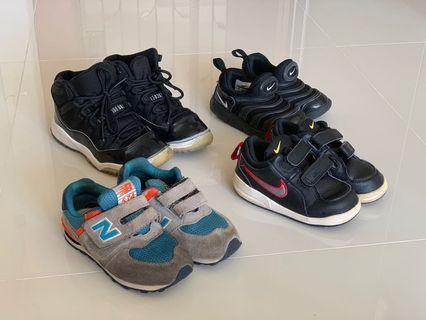 🚚 Nike new balance air Jordan kids pre loved