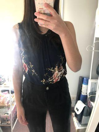 Floral Top | Size 8