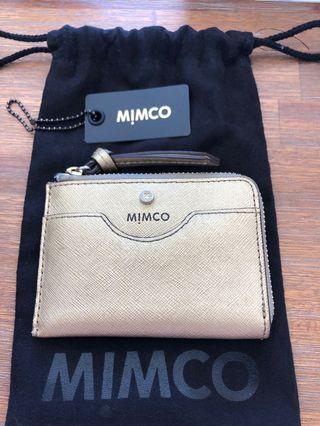 Mimco Supermicra card wallet