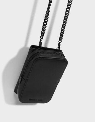 Charles & Keith Chain + Wallet Bag