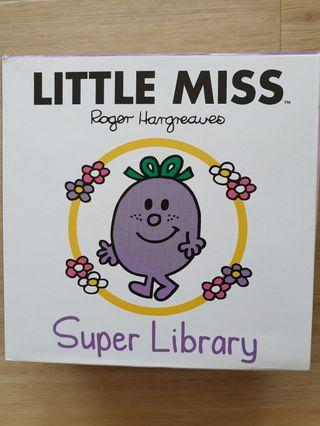 🚚 Hard-cover Little Miss compilation of 6 stories for younger kids!