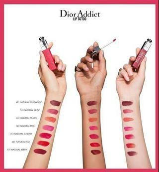 DIOR Addict Lip Tattoo Ready