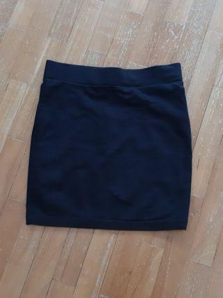 F21 Black Bandage Skirt Size US S