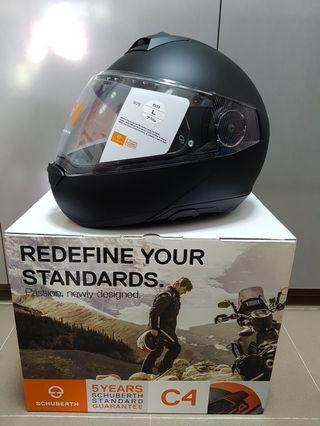 Schuberth C4 brand new in box L size