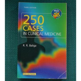 Medical Textbook - 250 cases in Clinical Medicine 3rd ed