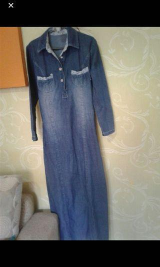gamis jeans
