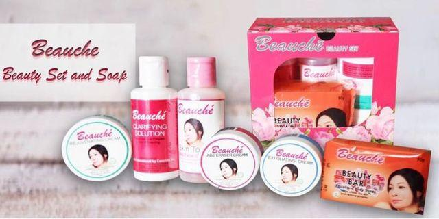 Beauche Set with 1 Extra Beauty Bar Soap