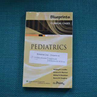 Medical Textbook - Pediatrics 2nd ed (Blueprints clinical cases)