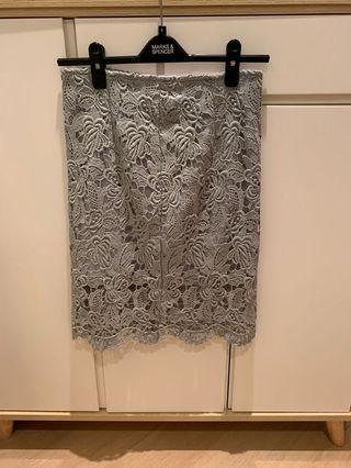 Lace Skirt 灰色蕾絲裙
