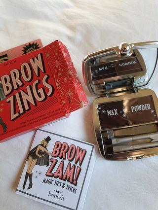 NEW benefit brow kit