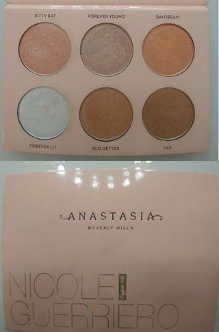 Glow Kit Nicole Guerriero palette by Anastasia Beverly Hills