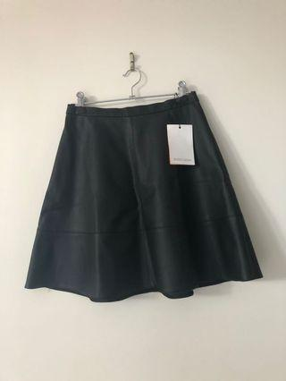 Rodeo Show faux leather skirt